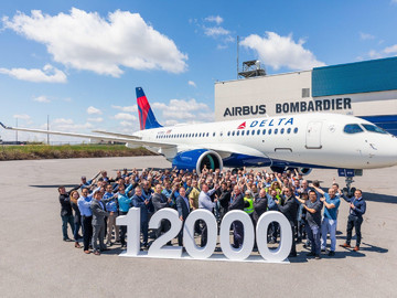 Airbus достиг 12000!